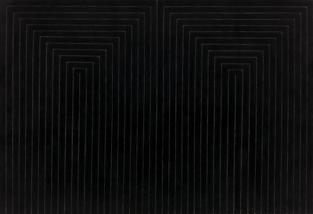 The Marriage of Reason and Squalor by Frank Stella